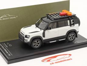 Land Rover Defender 110 Baujahr 2020 fuji weiß 1:43 Almost Real