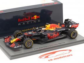 M. Verstappen Red Bull Racing RB16B #33 Sieger Emilia-Romagna F1 2021 1:43 Spark