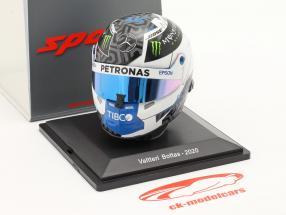Valtteri Bottas #77 Mercedes-AMG Petronas F1 Team formel 1 2020 hjelm 1:5 Spark