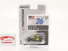 Colton Herta Honda #26 IndyCar Series 2021 1:64 Greenlight