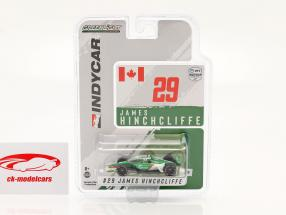 James Hinchcliffe Honda #29 IndyCar Series 2021 1:64 Greenlight