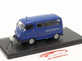 Renault Estafette 800 Gendarmerie Mobile radar 1978 blue 1:43 Hachette