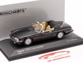 Jaguar XJS Cabriolet Byggeår 1988 sort 1:43 Minichamps
