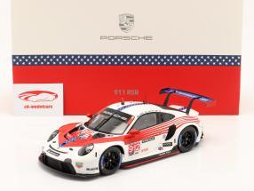 Porsche 911 RSR #912 2e Classe GTLM 12h Sebring IMSA 2020 1:18 Spark