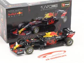 Max Verstappen Red Bull RB16 #33 vinder Abu Dhabi GP formel 1 2020 1:43 Bburago