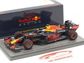 Max Verstappen Red Bull RB16B #33 2e Espanol GP formule 1 2021 1:43 Spark