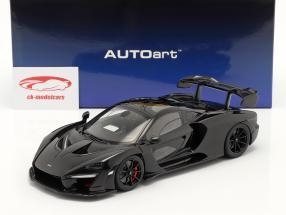 McLaren Senna Año de construcción 2018 negro 1:18 AUTOart