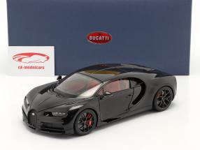 Bugatti Chiron Sport year 2019 nocturne black 1:18 AUTOart