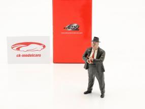 Alfred Neubauer Løbsleder Mercedes-Benz 50'erne flere år figur 1:18 LeMansMiniatures