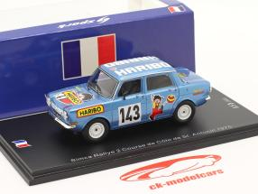 Simca Rally 2 #143 Subida de la colina Course de Cote St. Antonin 1975 1:43 Spark