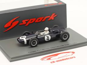 S. Moss Cooper T53 #4 gagnant International Trophy Silverstone 1961 1:43 Spark