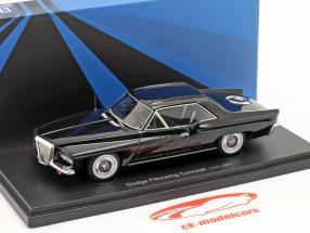 Dodge Flitewing Concept Car 1961 schwarz 1:43 AutoCult