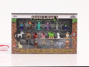 Minecraft Set 20 Figuren Serie 6 Jada Toys