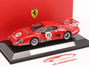 Ferrari 512 BB #15 gagnant Classe GTX 1000km Monza 1981 1:43 Bburago
