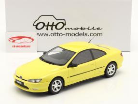 Peugeot 406 V6 Coupe Phase 1 Baujahr 1997 gelb 1:18 OttOmobile