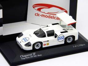 Chaparral 2F #222 Hill, Sharp Targa Florio 1967 1:43 Minichamps