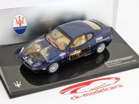 Maserati Coupe Cambiocorsa Faldet af Berlinmuren i 1989 1:43 Ixo