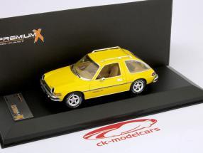 AMC Pacer X in 1975 gebouwd gele 1:43 Premium X