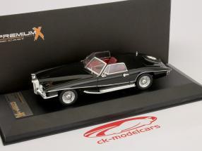 Stutz Blackhawk cabrio 1971 zwart 1:43 Premium X
