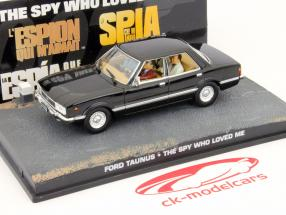 Ford Taunus Car James Bond film L'espion qui m'aimait 1:43 Ixo