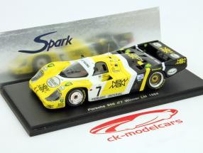 Porsche 956 #7 Vencedor 24h LeMans 1984 Ludwig / Pescarolo 1:43 Spark