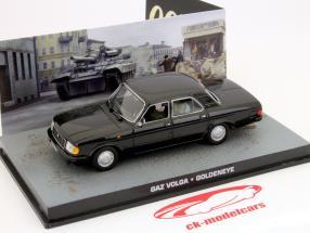 GAZ Volga James Bond Movie Bil Goldeneye 1:43 Ixo