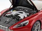 Aston Martin Vanquish ano 2015 vulcão vermelho 1:18 AUTOart
