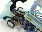 Ford Mustang Dragster Malco Gasser année de construction 1967 Ohio George Montgomery bleu clair 1:18 GMP
