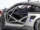 Porsche 911 (991) RSR #911 Baujahr 2016 grau / weiß / schwarz 1:8 Amalgam