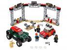 LEGO® Speed Champions 1967 Mini Cooper S Rally en Mini John Cooper Works Buggy