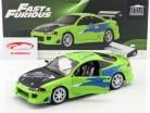 Brian's Mitsubishi Eclipse year 1995 Movie Fast and Furious (2001) green 1:18 Greenlight