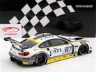 BMW M6 GT3 #98 segundo 24h Nürburgring 2017 Rowe Racing 1:18 Minichamps