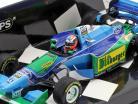 Johnny Herbert Benetton B194 #6 japonés GP fórmula 1 1994 1:43 Minichamps