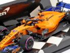 Lando Norris McLaren MCL33 #47 prova Abu Dhabi GP F1  2018 1:43 Minichamps