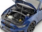 Ford Mustang Shelby GT350R Opførselsår 2017 blå / sort 1:18 AUTOart