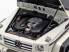 Mercedes-Benz G500 4x4² Concept Bouwjaar 2015 polair wit 1:18 Almost Real