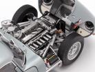 Jaguar Lightweight E-Type mit abnehmbarem Dach Baujahr 2015 silber 1:18 AUTOart