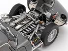 Jaguar Lightweight E-Type met verwijderbaar top Bouwjaar 2015 donkergrijs 1:18 AUTOart