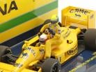 A. Senna riding on S. Nakajimas Lotus 99T #11 italiano GP F1 1987 1:43 Minichamps