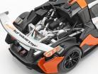 McLaren P1 GTR Concept Car 2015 negro / naranja / plata 1:18 Almost Real