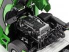 Mercedes-Benz Actros Gigaspace 4x2 caminhão Facelift 2018 verde 1:18 NZG