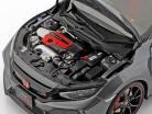 Honda Civic type R (FK8) année de construction 2017 poli métal 1:18 AUTOart