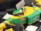 Riccardo Patrese Benetton B193B #6 3rd Great Britain GP F1 1993 1:43 Minichamps