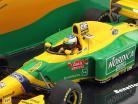 M. Schumacher Benetton B193B #5 gagnant Portugal GP formule 1 1993 1:43 Minichamps