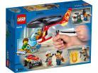 LEGO® City Einsatz mit dem Feuerwehrhubschrauber