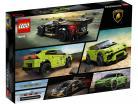 LEGO® Speed Champions Lamborghini Urus ST-X & Lamborghini Huracan Super Trofeo EVO