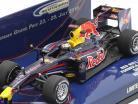 Sebastian Vettel Red Bull Racing Renault RB5 Showcar fórmula 1 2010 1:43 Minichamps