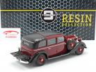 Mercedes-Benz 260 D (W138) Pullman Landaulet 1936 Burgundy red 1:18 Triple9