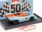 º 22 do Golfo Porsche 917 K Hailwood, Hobbs 24h LeMans 1970 1:43 Brumm