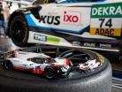 Porsche 919 Hybrid #2 winner 24h LeMans 2017 Bernhard, Hartley, Bamber 1:18 Ixo